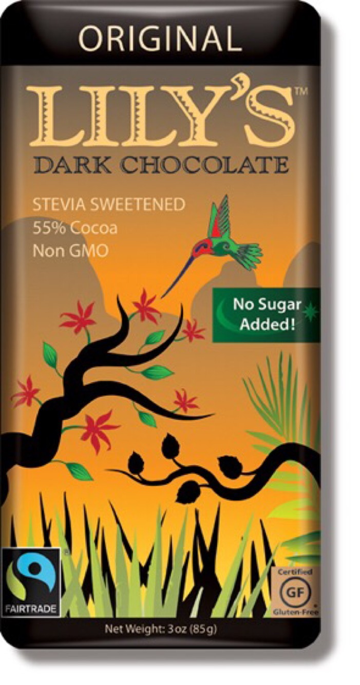Dark Chocolate Bars - Lily's Sweets image