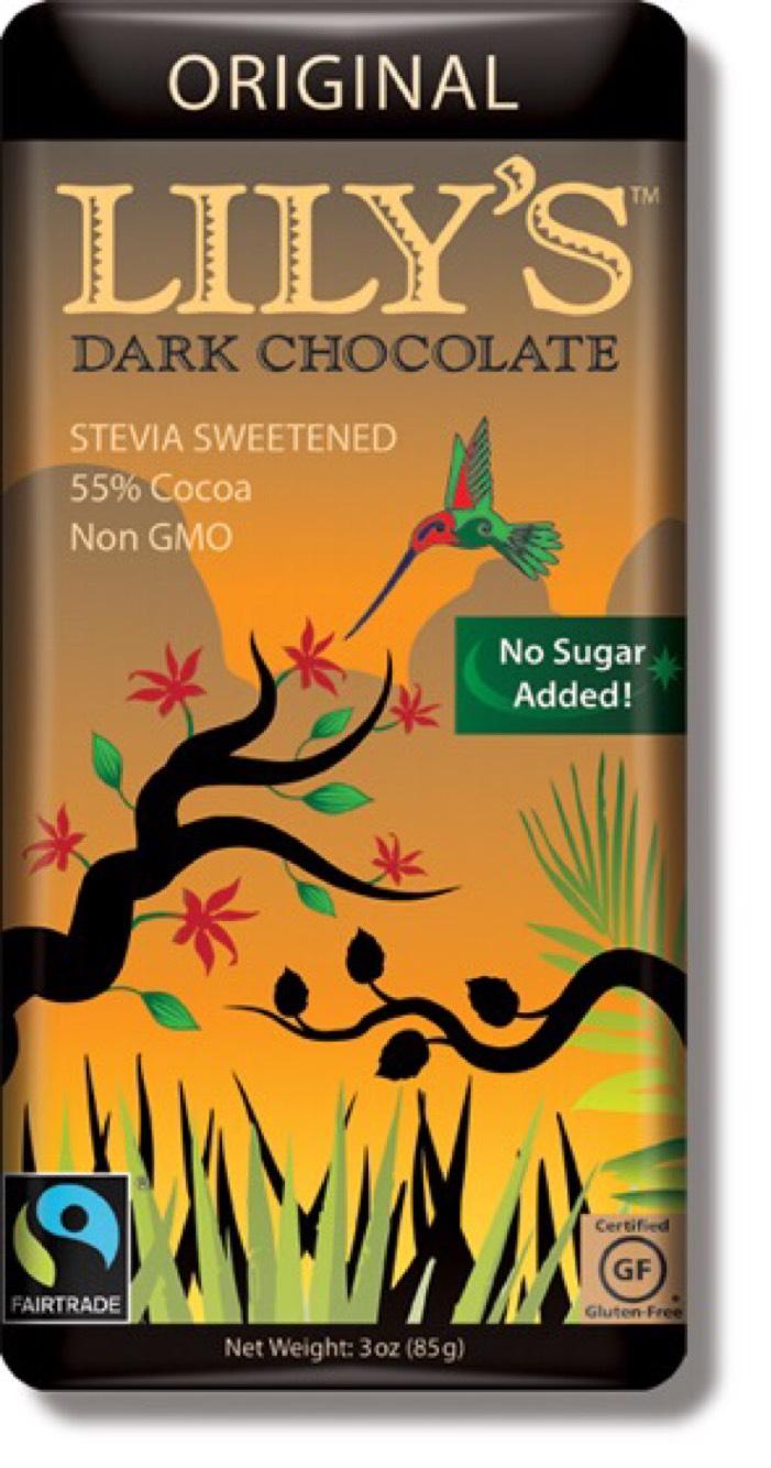 Dark Chocolate Bars - Lily's Sweets