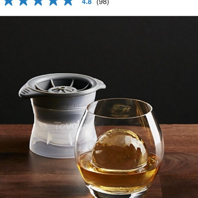 Whisky Ice Molds