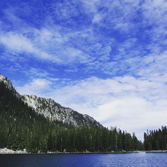 Glacier Lake, PCT Stevens Pass