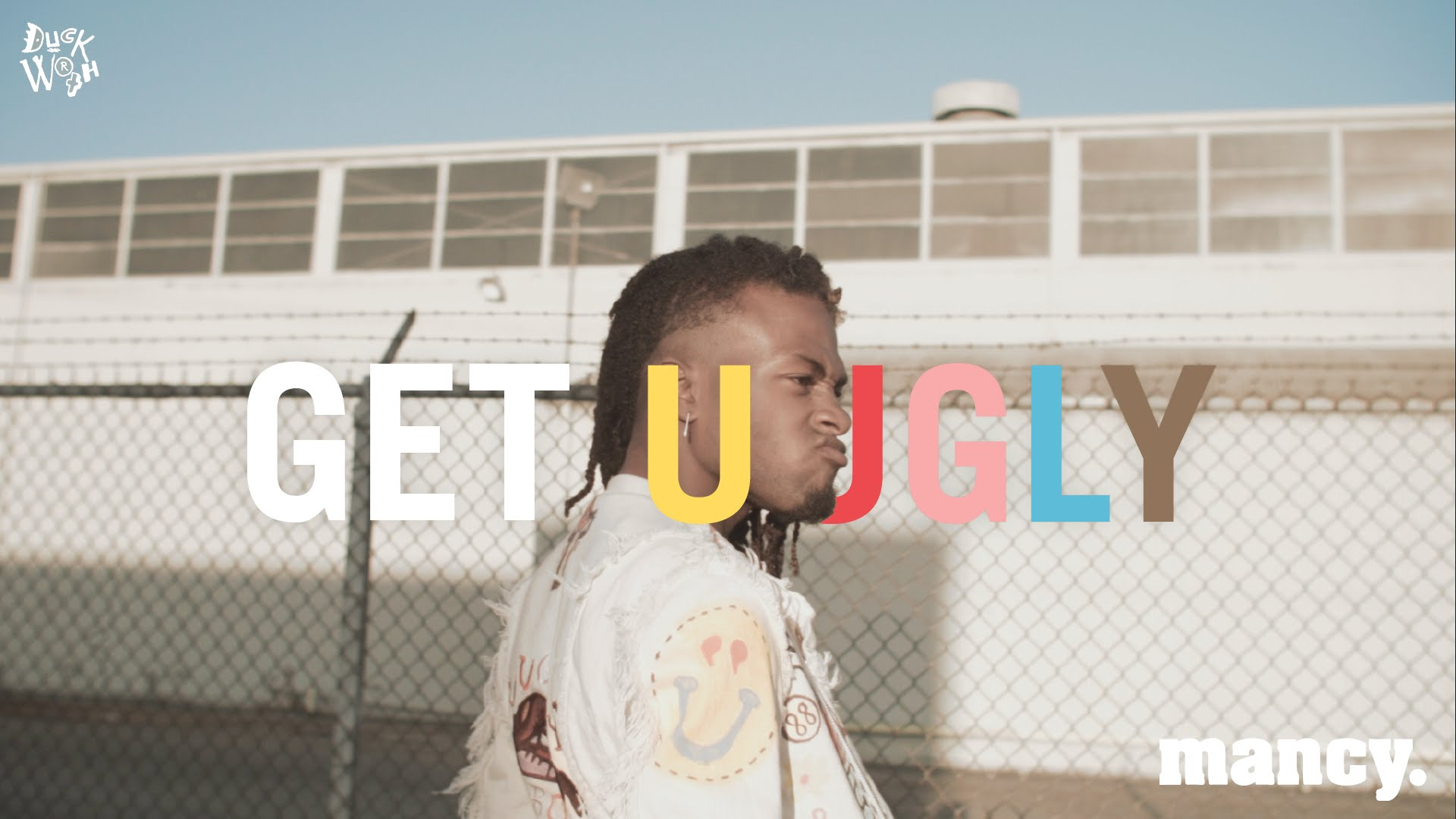 """""""GET UUGLY"""" - DUCKWRTH image"""